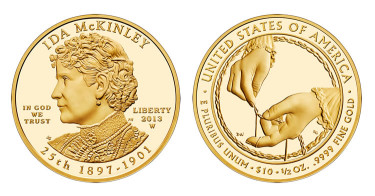 Ida McKinley First Spouse Gold Coins