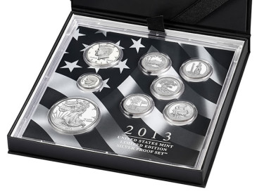 2013 Limited Edition Silver Proof Set