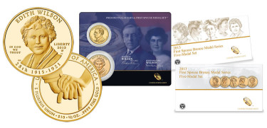 Final 2013 First Spouse Coin Collecting Products