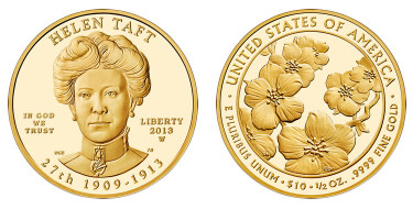 Helen Taft First Spouse Gold Coins