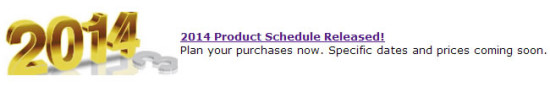 US Mint and its 2014 Product Schedule Callout