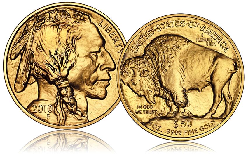 Bullion 2010 American Buffalo Gold Coin